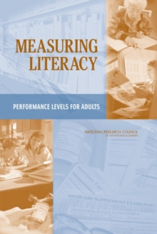 Measuring Literacy : Performance Levels for Adults, PDF eBook