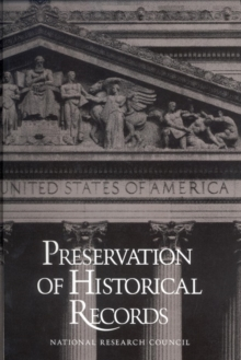 Preservation of Historical Records, PDF eBook