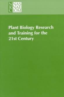 Plant Biology Research and Training for the 21st Century, PDF eBook