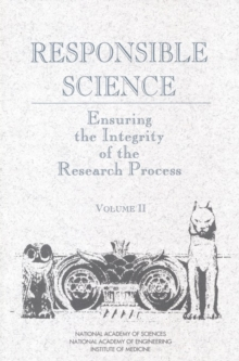 Responsible Science : Ensuring the Integrity of the Research Process: Volume II, PDF eBook