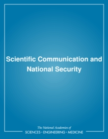 Scientific Communication and National Security, PDF eBook