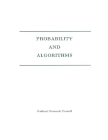 Probability and Algorithms, PDF eBook