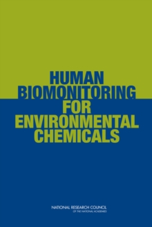 Human Biomonitoring for Environmental Chemicals, PDF eBook