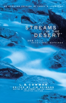 Streams in the Desert : 366 Daily Devotional Readings, Hardback Book