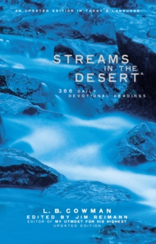 Streams in the Desert : 366 Daily Devotional Readings, Paperback / softback Book