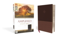 The Amplified Study Bible, Leathersoft, Brown, Leather / fine binding Book