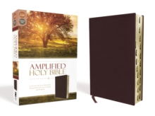 Amplified Holy Bible, Bonded Leather, Burgundy, Indexed : Captures the Full Meaning Behind the Original Greek and Hebrew, Leather / fine binding Book