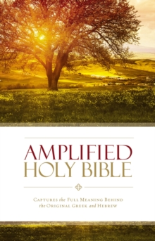 Amplified Holy Bible, eBook : Captures the Full Meaning Behind the Original Greek and Hebrew, EPUB eBook