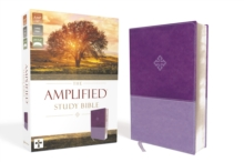 The Amplified Study Bible, Hardcover, Leather / fine binding Book