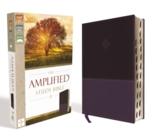 The Amplified Study Bible, Leathersoft, Purple, Thumb Indexed, Leather / fine binding Book
