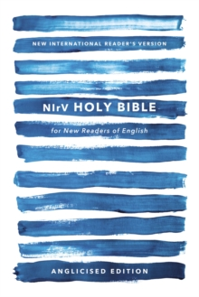 NIrV, Holy Bible for New Readers of English, Anglicised Edition, Paperback, Blue, Paperback Book