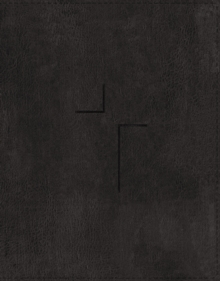 The Jesus Bible, ESV Edition, Leathersoft, Black, Thumb Indexed, Leather / fine binding Book