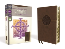 NRSV, Thinline Reference Bible, Leathersoft, Brown, Thumb Indexed, Comfort Print, Leather / fine binding Book