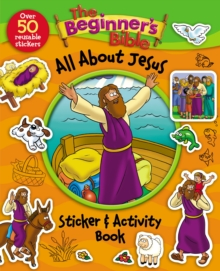 The Beginner's Bible All About Jesus Sticker and Activity Book, Paperback Book