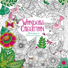 Wonders of Creation Coloring Book : Illustrations to Color and Inspire, Paperback Book