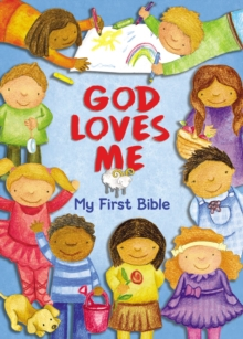 God Loves Me, My First Bible, Board book Book