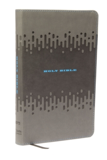 KJV Bible for Kids, Leathersoft, Charcoal : Thinline Edition, Leather / fine binding Book