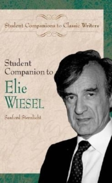 Student Companion to Elie Wiesel, PDF eBook