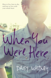 When You Were Here, Paperback Book