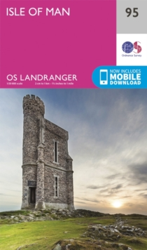 Isle of Man, Sheet map, folded Book