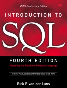 Introduction to SQL : Mastering the Relational Database Language, Mixed media product Book