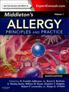 Middleton's Allergy 2-Volume Set : Principles and Practice (Expert Consult Premium Edition - Enhanced Online Features and Print), Hardback Book