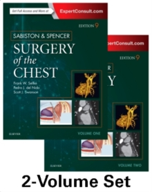 Sabiston and Spencer Surgery of the Chest : 2-Volume Set, Hardback Book