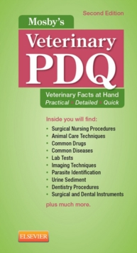 Mosby's Veterinary PDQ - E-Book, EPUB eBook