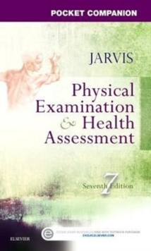 Pocket Companion for Physical Examination and Health Assessment, Paperback / softback Book