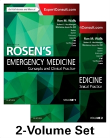 Rosen's Emergency Medicine: Concepts and Clinical Practice : 2-Volume Set, Hardback Book