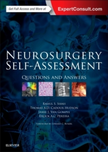 Neurosurgery Self-Assessment : Questions and Answers, Paperback / softback Book
