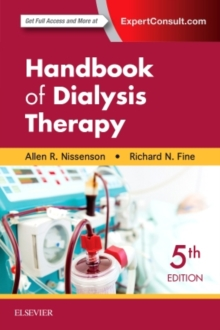 Handbook of Dialysis Therapy, Paperback Book