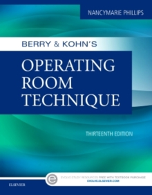 Berry & Kohn's Operating Room Technique, Paperback Book