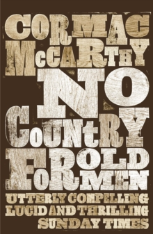 No Country for Old Men, Paperback / softback Book