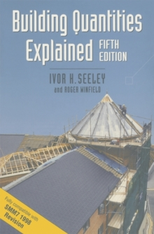 Building Quantities Explained, Paperback / softback Book