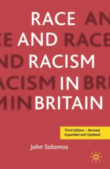 Race and Racism in Britain, Third Edition, Paperback / softback Book