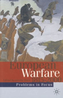 European Warfare 1815-2000, Paperback / softback Book