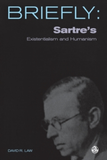 Sartre's Existentialism and Humanism, Paperback / softback Book
