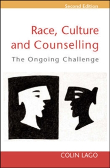 Race, Culture and Counselling, Paperback / softback Book