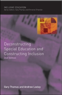 Deconstructing Special Education and Constructing Inclusion, Paperback Book