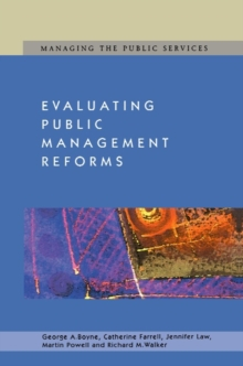 Evaluating Public Management Reforms, PDF eBook