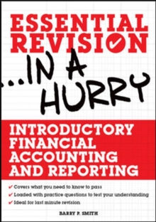 Introductory Financial Accounting and Reporting, Paperback / softback Book