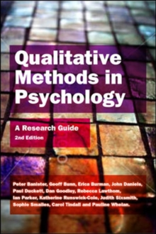 Qualitative Methods In Psychology: A Research Guide : A Research Guide, Paperback Book