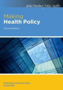 Making Health Policy, Paperback Book