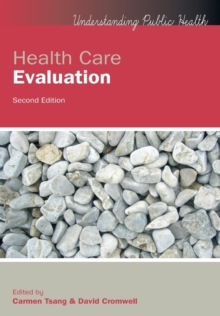 Health Care Evaluation, Paperback Book