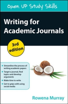 Writing for Academic Journals, Paperback / softback Book