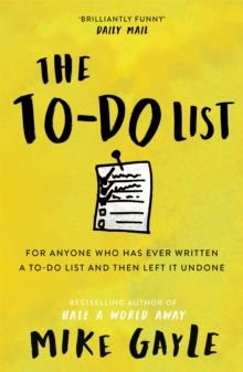 The To-do List, Paperback Book