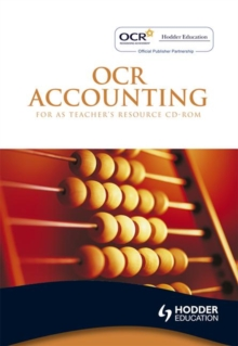OCR Accounting for AS : Teacher's Resource, CD-Audio Book