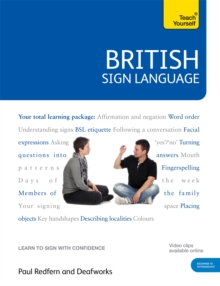 British Sign Language: Teach Yourself : Book and DVD Pack, Mixed media product Book