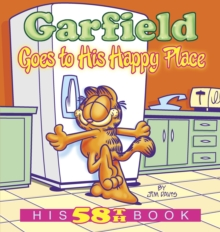 Garfield Goes To His Happy Place, Paperback Book